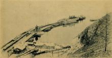 Первоначально, станция эта назывлась Сокол, но во время строительства была переименована в Танхой. Сначала здесь стали строить пристань для пароходов, а затем и гавань для парома-ледокола около которой образовался поселок Теребиловка.